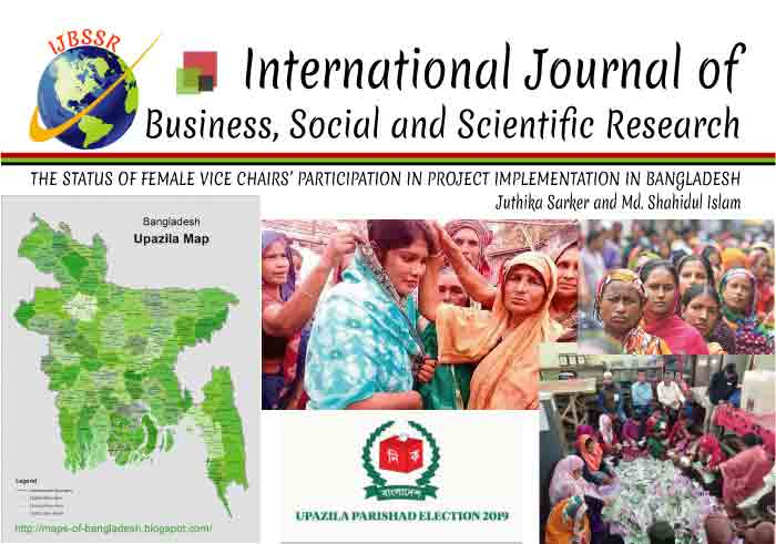 THE STATUS OF FEMALE VICE CHAIRS' PARTICIPATION IN PROJECT IMPLEMENTATION IN BANGLADESH