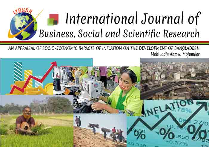 AN APPRAISAL OF SOCIO-ECONOMIC IMPACTS OF INFLATION ON THE DEVELOPMENT OF BANGLADESH