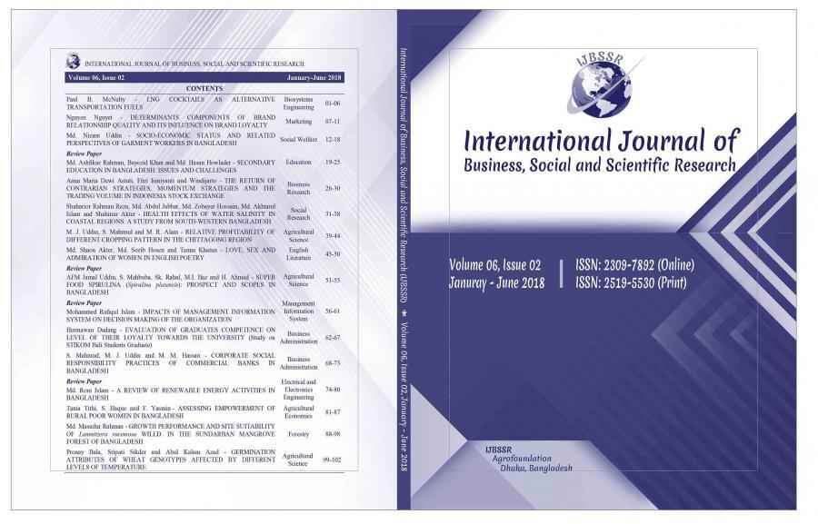 ijbssr com - International Journal of Business, Social and